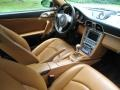 2007 Porsche 911 Natural Leather Brown Interior Interior Photo