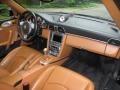 2007 Porsche 911 Natural Leather Brown Interior Dashboard Photo