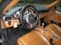 2007 Porsche 911 Natural Leather Brown Interior Prime Interior Photo