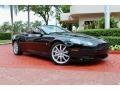 Jet Black 2006 Aston Martin DB9 Volante