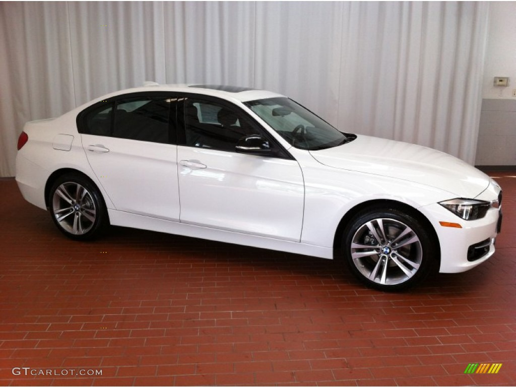 Alpine White 2013 Bmw 3 Series 328i Xdrive Sedan Exterior