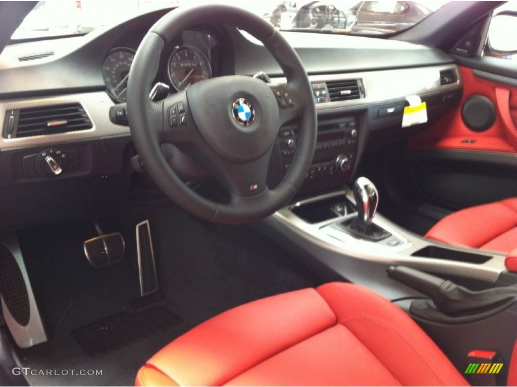 Coral Red Black Interior 2013 Bmw 3 Series 335is Coupe Photo 71160864