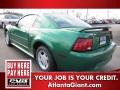 2000 Electric Green Metallic Ford Mustang V6 Coupe  photo #2