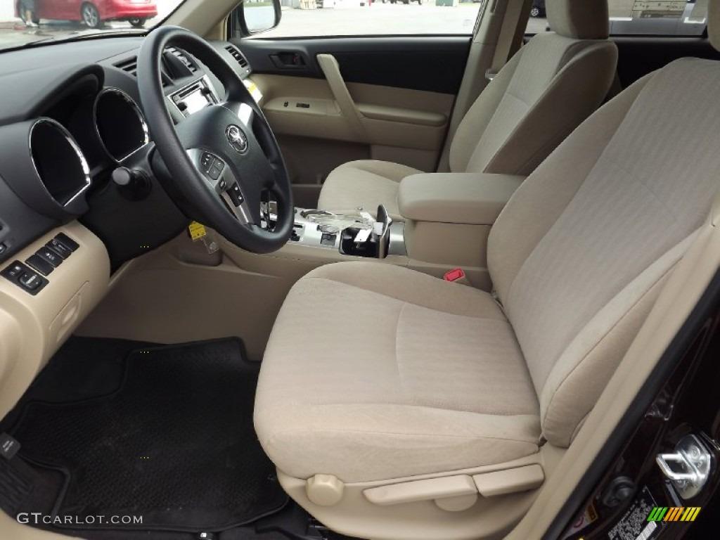 2013 Toyota Highlander Standard Highlander Model Interior Photo 71175539
