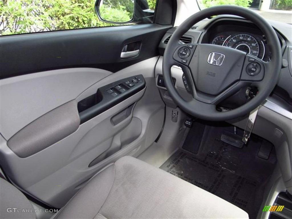 Gray interior 2013 honda cr v lx photo 71179244 for Honda cr v 2013 interior