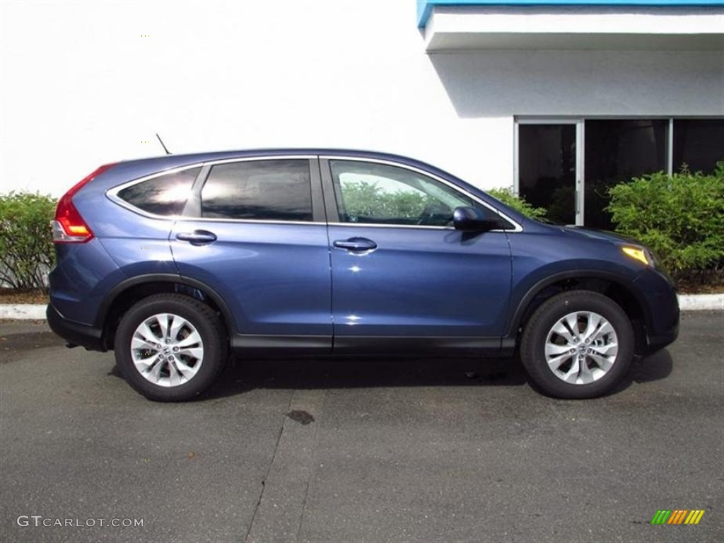 twilight blue metallic 2012 honda cr v ex exterior photo. Black Bedroom Furniture Sets. Home Design Ideas