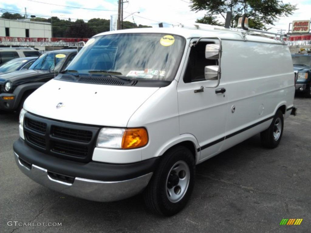 2003 bright white dodge ram van 1500 cargo 71132252 car color galleries. Black Bedroom Furniture Sets. Home Design Ideas