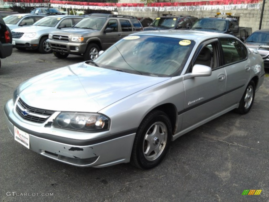 2001 galaxy silver metallic chevrolet impala ls 71132251 car color galleries. Black Bedroom Furniture Sets. Home Design Ideas