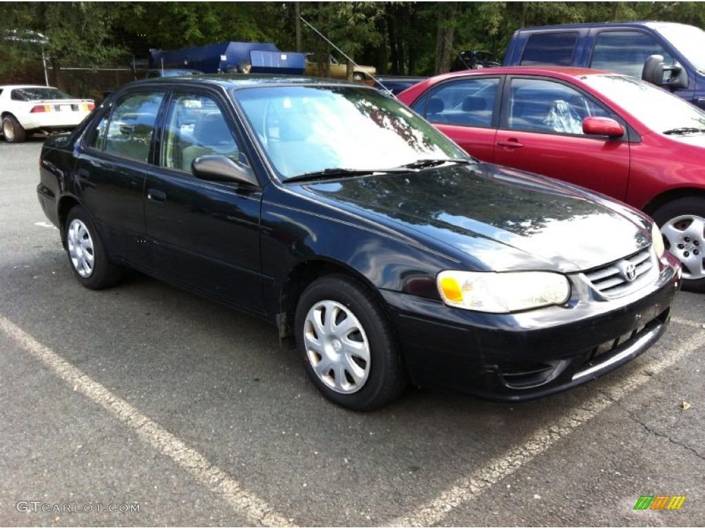 2001 Toyota Corolla le Black 2001 Corolla le Black Sand Pearl Black Photo 1
