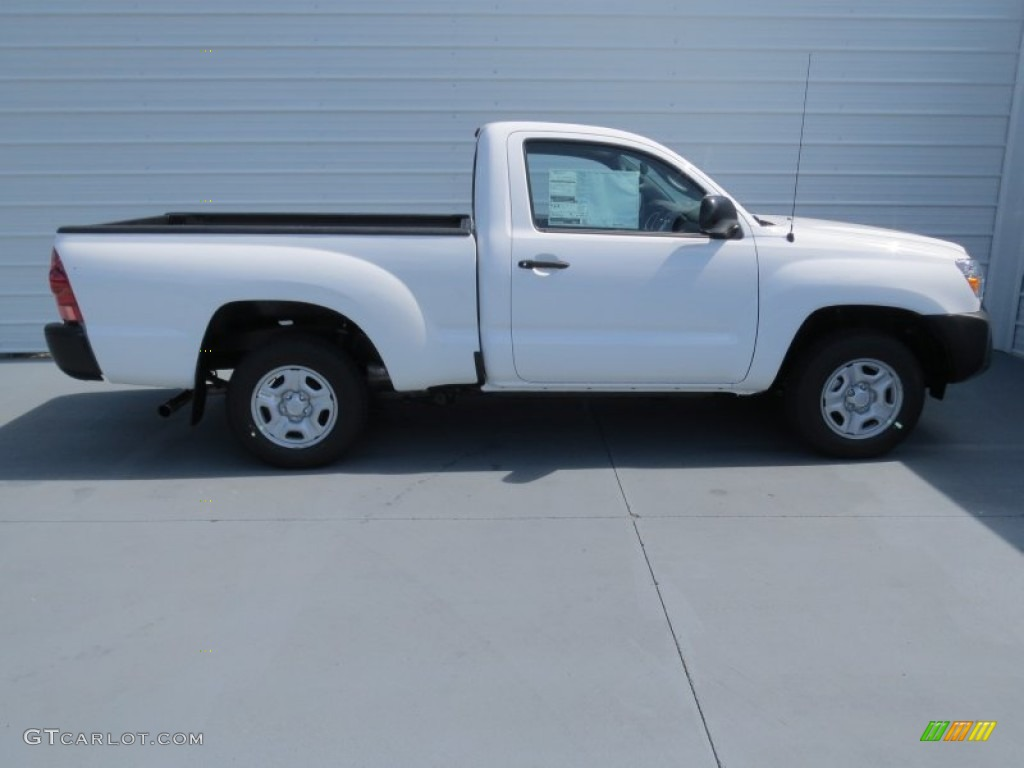 super white 2013 toyota tacoma regular cab exterior photo 71187949. Black Bedroom Furniture Sets. Home Design Ideas