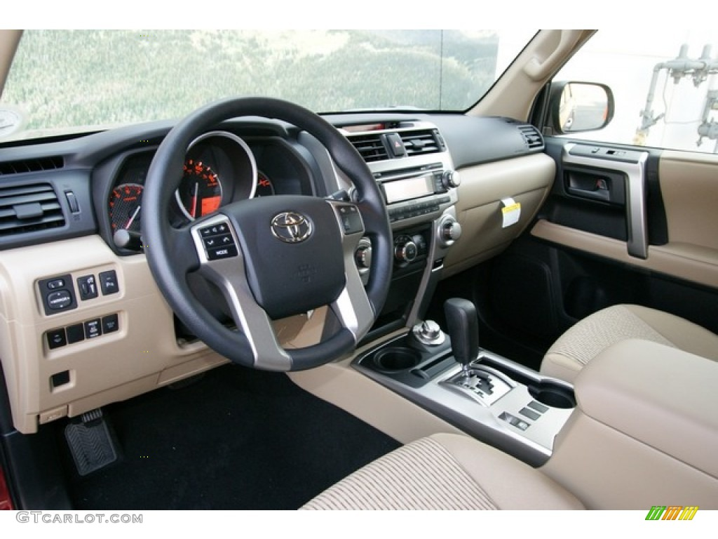 Beige Interior 2013 Toyota 4runner Sr5 4x4 Photo 71188306