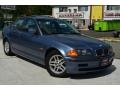 Steel Blue Metallic 2000 BMW 3 Series 323i Sedan