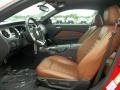 Saddle 2011 Ford Mustang Interiors