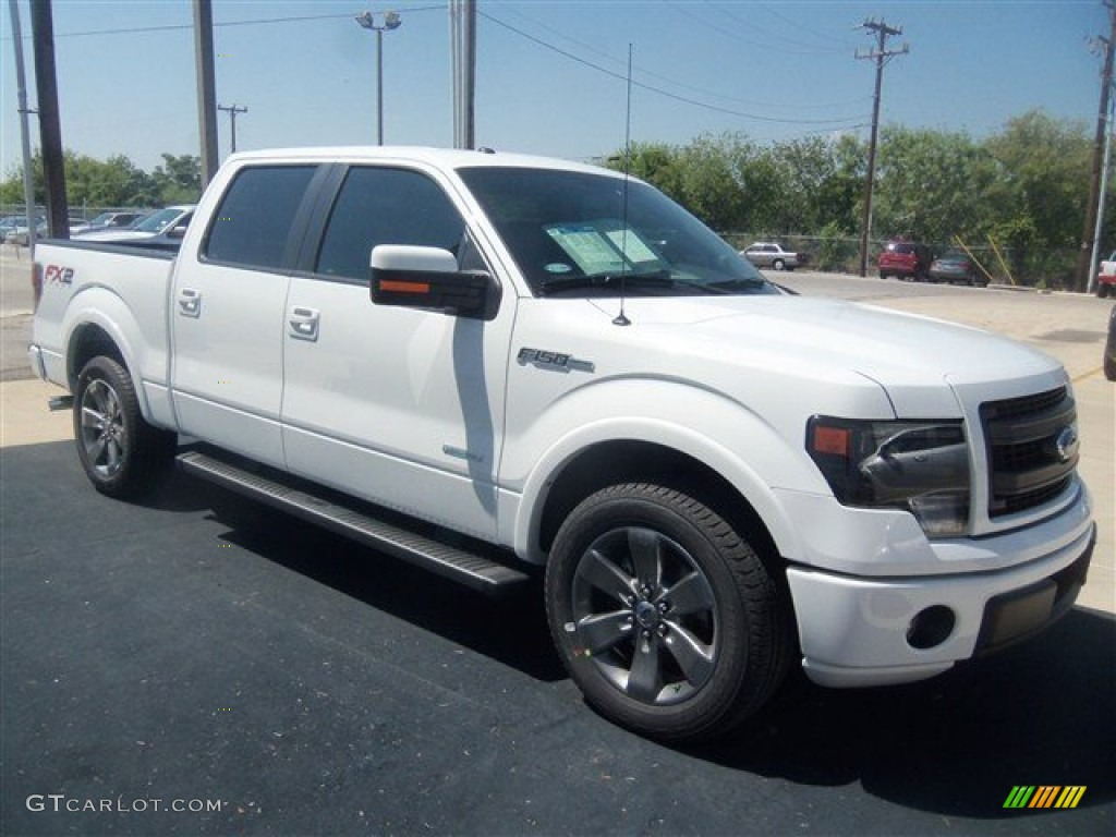 oxford white 2013 ford f150 fx2 supercrew exterior photo 71198779. Black Bedroom Furniture Sets. Home Design Ideas