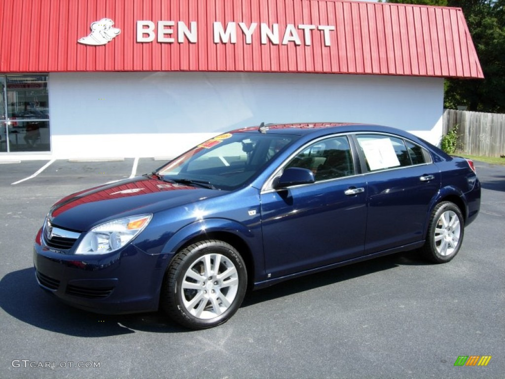 Deep Blue Saturn Aura