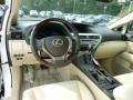 Parchment/Espresso Birds Eye Maple Prime Interior Photo for 2013 Lexus RX #71211160