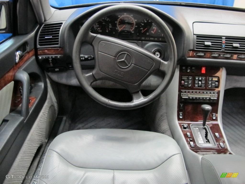 1992 mercedes benz s class 500 sel sedan gray dashboard for Mercedes benz dashboard
