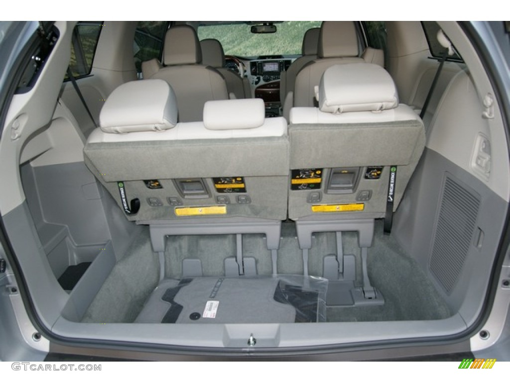 2013 toyota sienna limited awd trunk photos. Black Bedroom Furniture Sets. Home Design Ideas