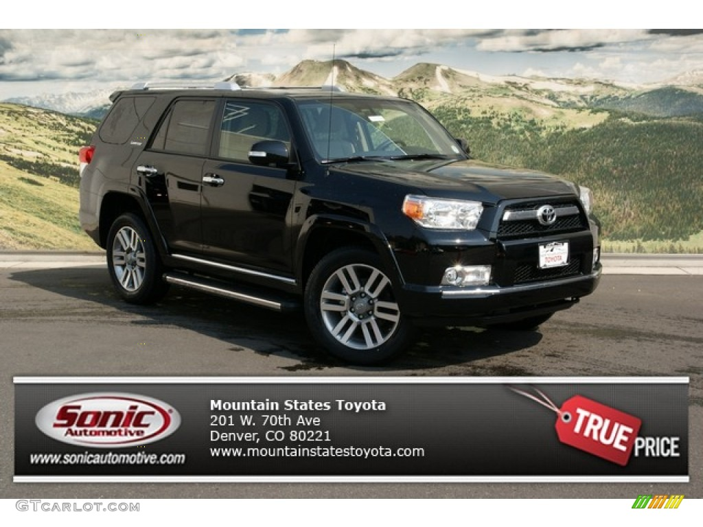 2013 black toyota 4runner limited 4x4 71193882 car color galleries. Black Bedroom Furniture Sets. Home Design Ideas