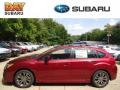 Camellia Red Pearl - Impreza 2.0i Sport Premium 5 Door Photo No. 1