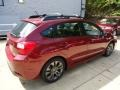 Camellia Red Pearl - Impreza 2.0i Sport Premium 5 Door Photo No. 4