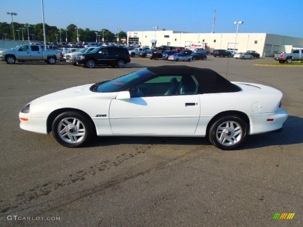 1995 Arctic White Chevrolet Camaro Z28 Convertible 71194168 Photo 4 Car Color