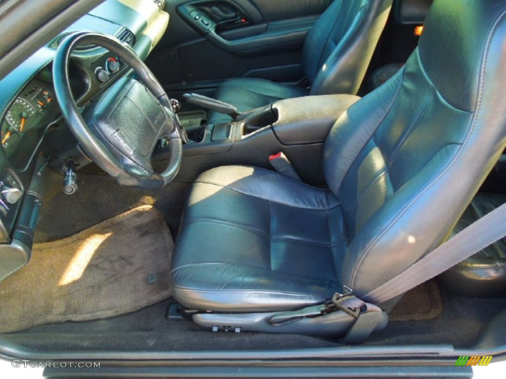 Dark Gray Interior 1995 Chevrolet Camaro Z28 Convertible Photo