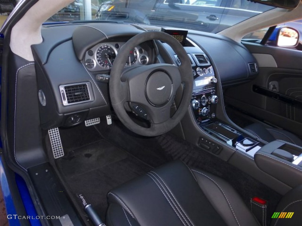 Obsidian Black Interior 2012 Aston Martin V8 Vantage S Coupe Photo 71222023 Gtcarlot Com