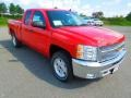 2013 Victory Red Chevrolet Silverado 1500 LT Extended Cab  photo #2
