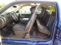 2013 Blue Topaz Metallic Chevrolet Silverado 1500 LT Extended Cab 4x4  photo #15