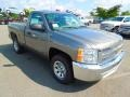 2012 Graystone Metallic Chevrolet Silverado 1500 LS Regular Cab  photo #2
