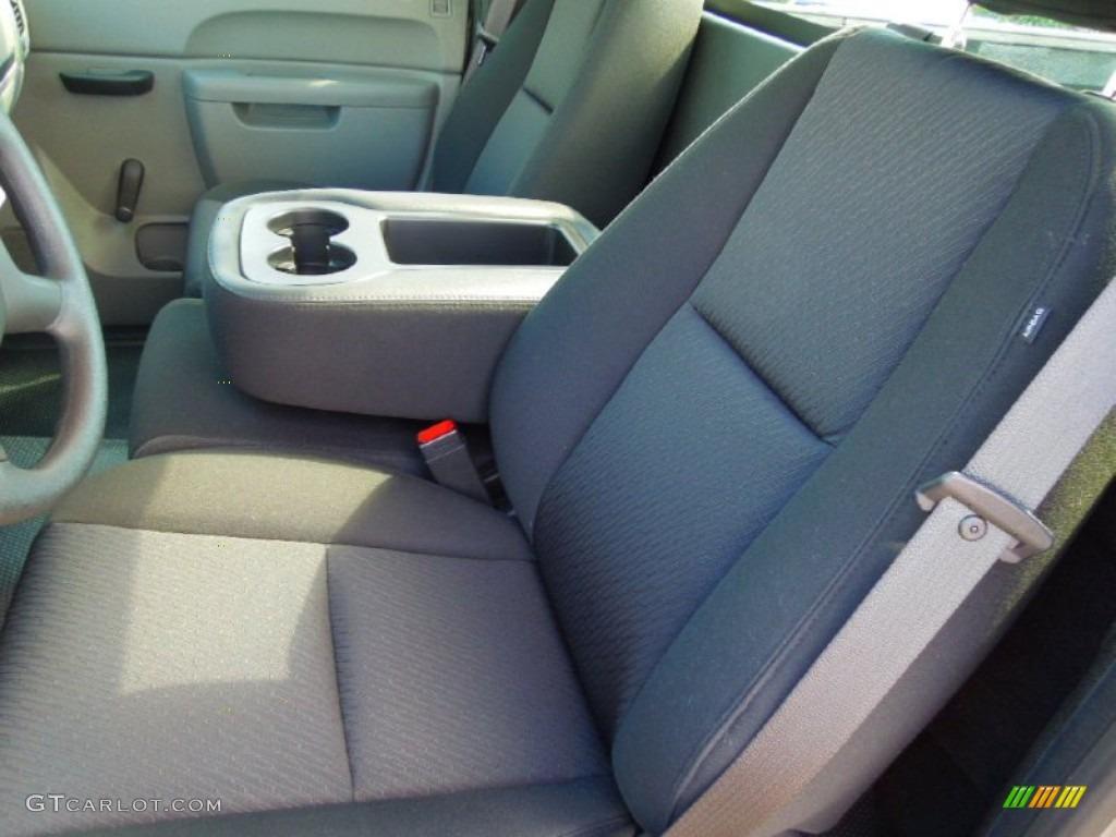 2012 Silverado 1500 LS Regular Cab - Graystone Metallic / Dark Titanium photo #9