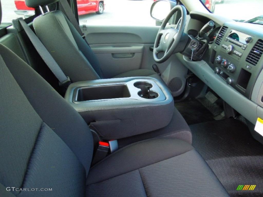 2012 Silverado 1500 LS Regular Cab - Graystone Metallic / Dark Titanium photo #17
