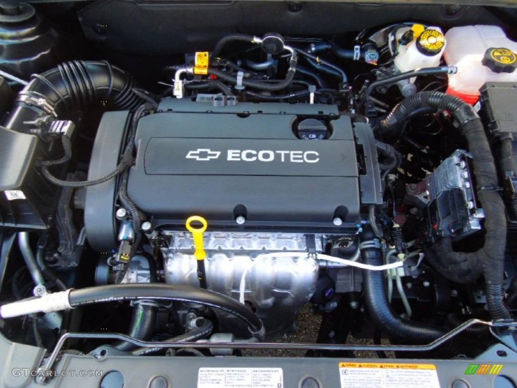 on 2014 Chevy Ecotec 4 Cylinder Engine