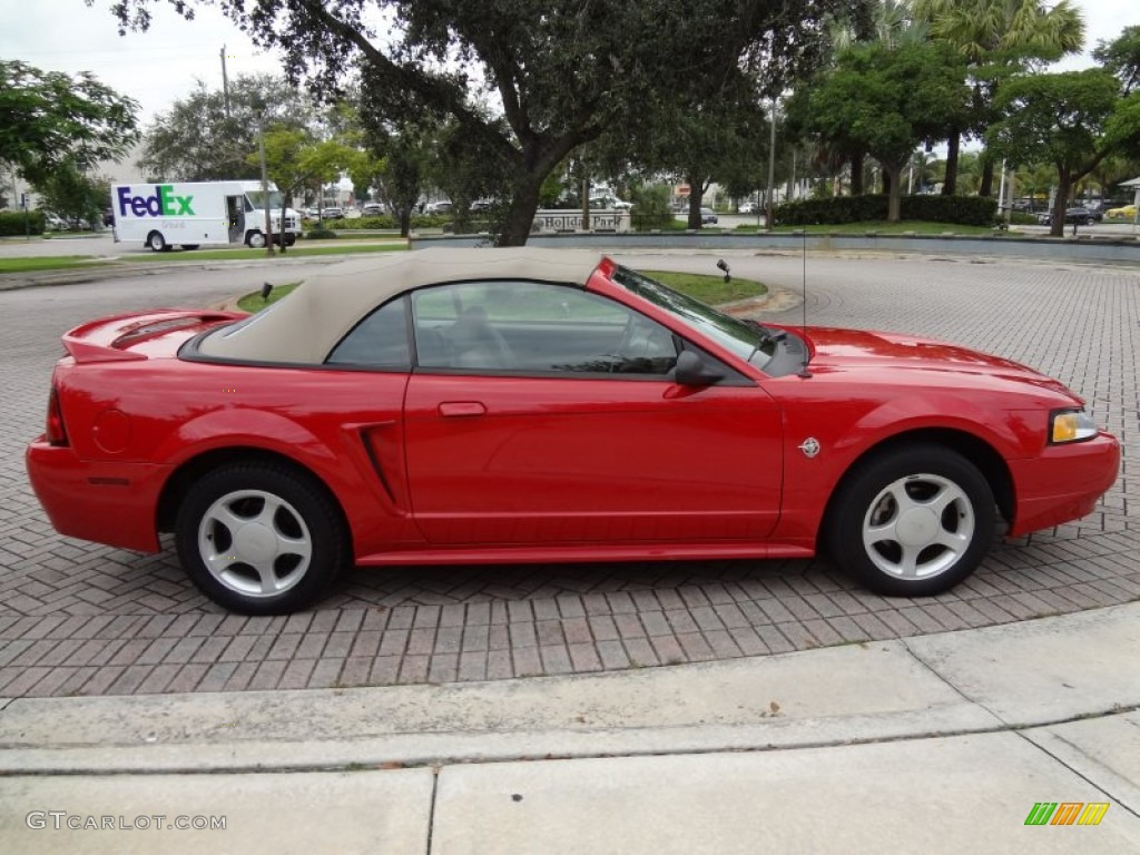 rio red 1999 ford mustang gt convertible exterior photo 71227836. Black Bedroom Furniture Sets. Home Design Ideas