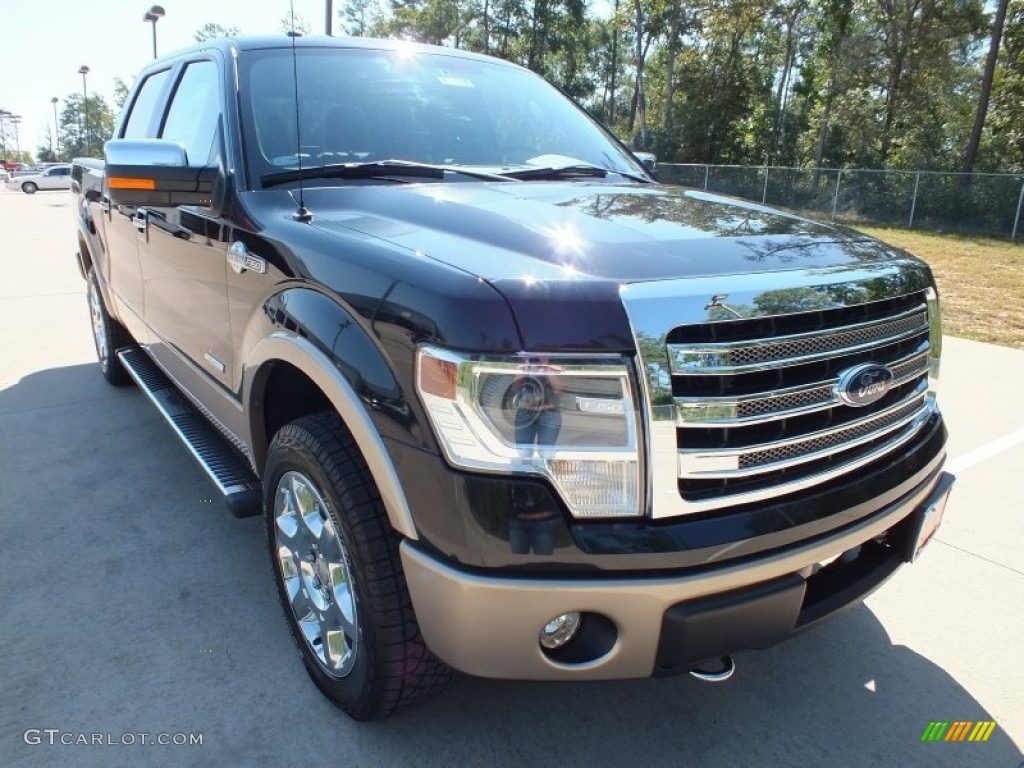 2013 tuxedo black metallic ford f150 king ranch supercrew 4x4 71227786 car. Black Bedroom Furniture Sets. Home Design Ideas