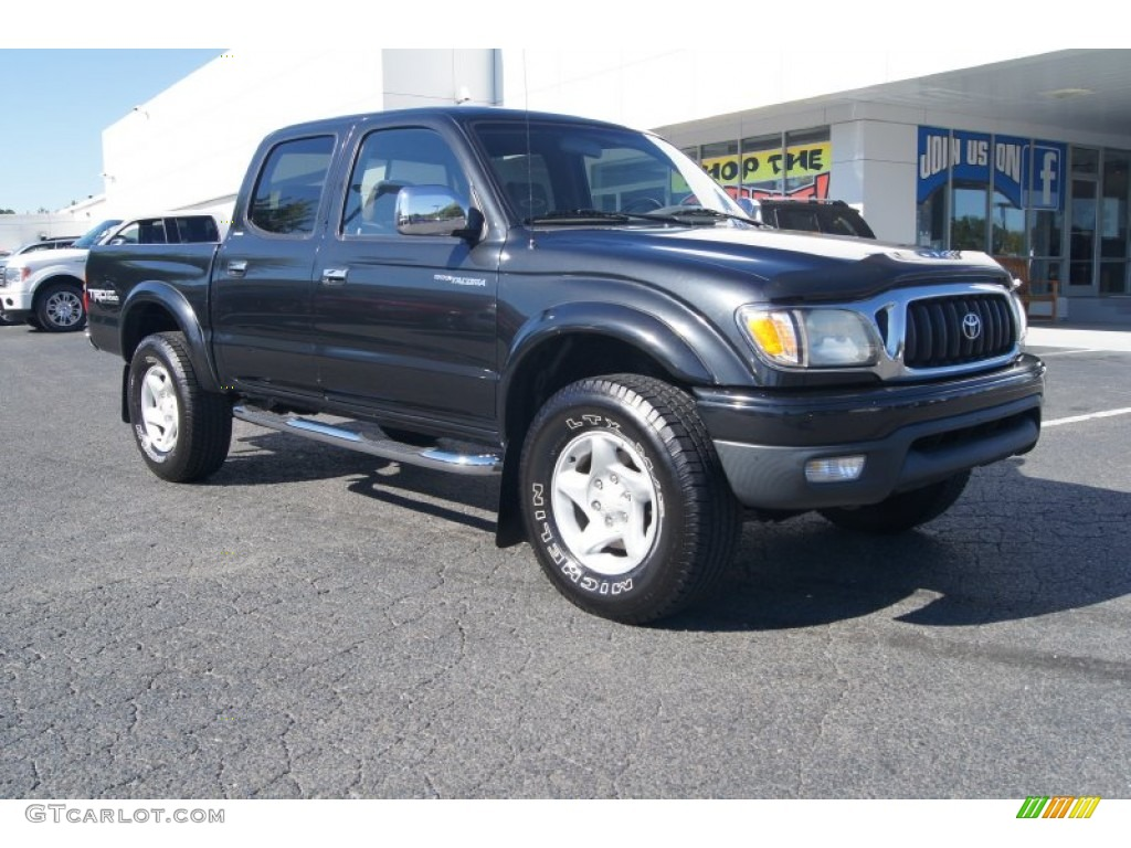 2001 black sand pearl toyota tacoma v6 prerunner trd double cab 71227294 car. Black Bedroom Furniture Sets. Home Design Ideas