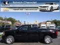 2013 Black Chevrolet Silverado 1500 LTZ Crew Cab 4x4  photo #1