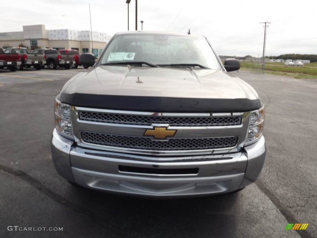 2013 Silverado 1500 LT Crew Cab - Mocha Steel Metallic / Light Cashmere/Dark Cashmere photo #2