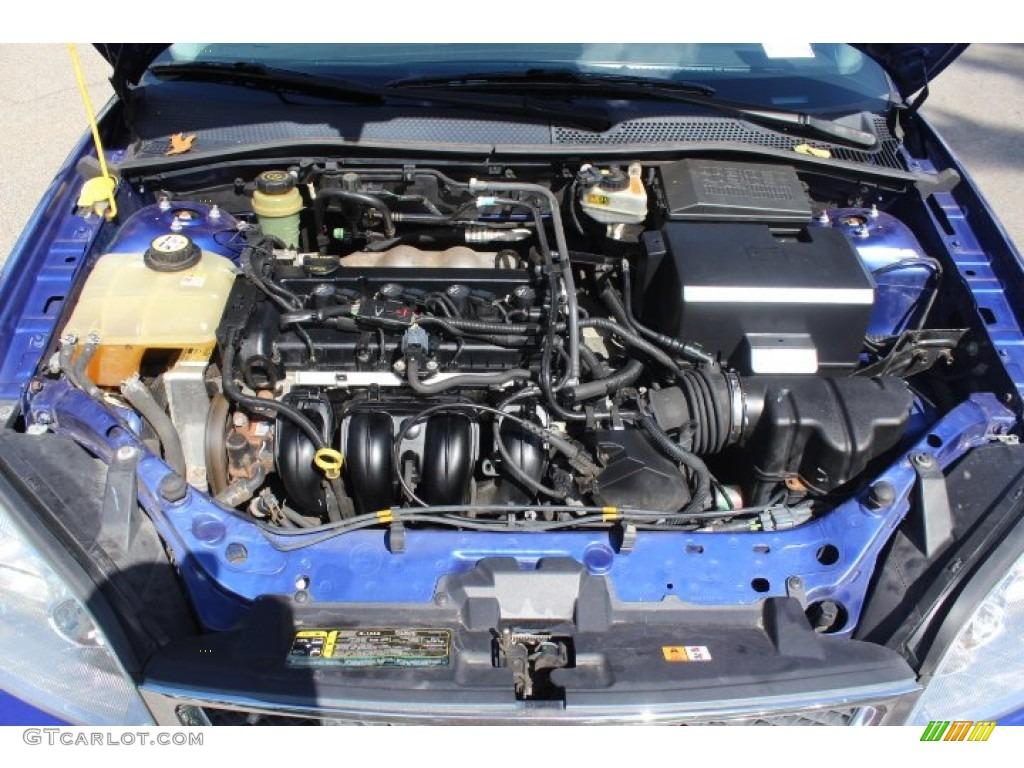 2005 Ford Focus ZX5 SE Hatchback Engine Photos  GTCarLotcom