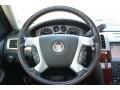 2008 Cadillac Escalade Ebony Interior Steering Wheel Photo