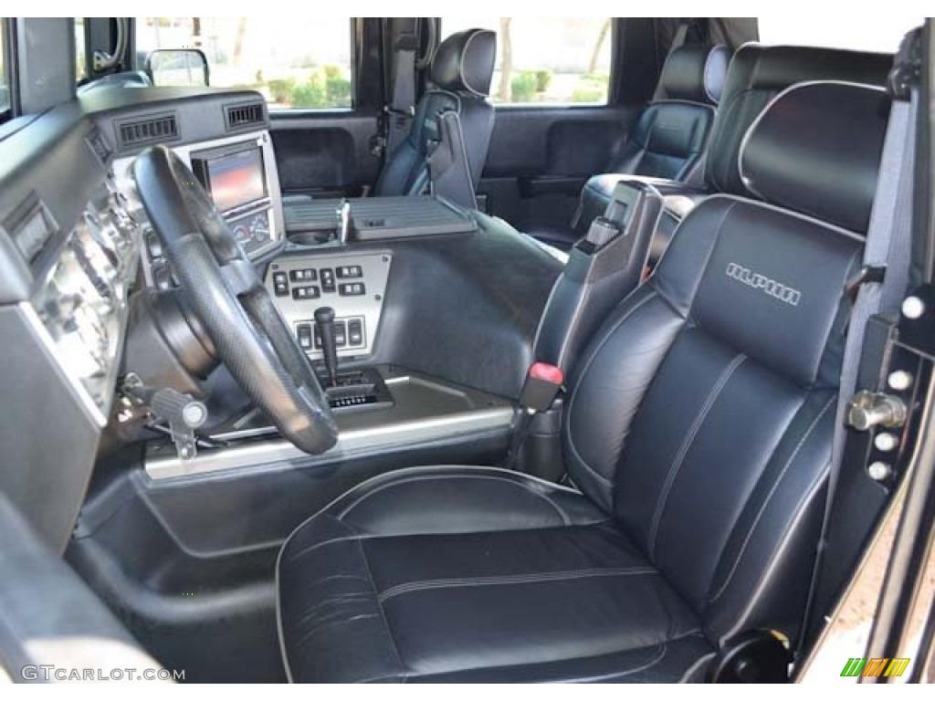 Interior 2006 Hummer h1