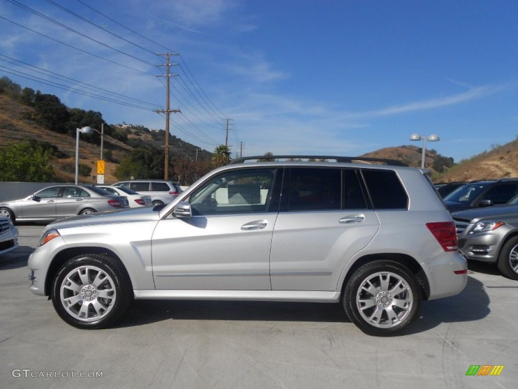 Glk Specs >> Iridium Silver Metallic 2013 Mercedes-Benz GLK 350 Exterior Photo #71254803 | GTCarLot.com