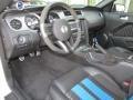 2010 Ford Mustang Charcoal Black/Grabber Blue Interior Prime Interior Photo