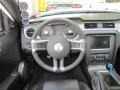 2010 Ford Mustang Charcoal Black/Grabber Blue Interior Dashboard Photo