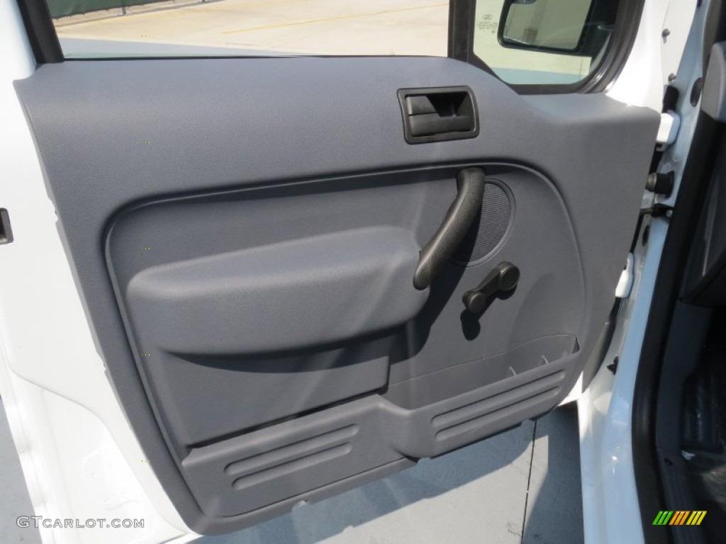 2012 Ford Transit Connect Xl Van Dark Grey Door Panel Photo 71267191