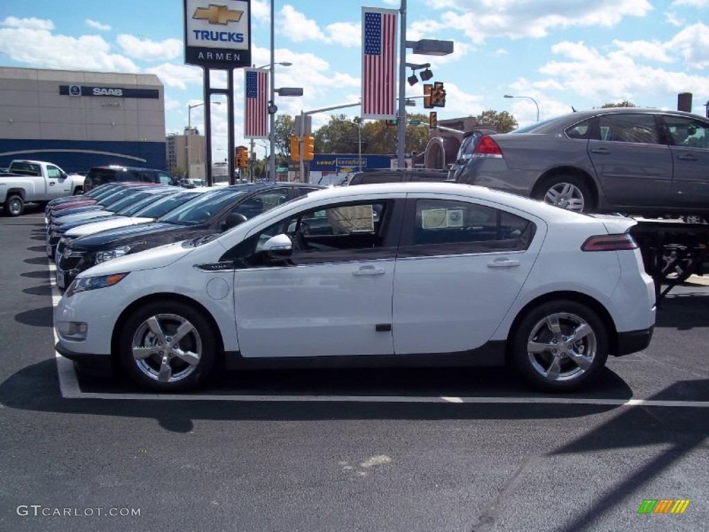 Summit White 2013 Chevrolet Volt Standard Volt Model Exterior Photo #71269447