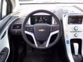 Jet Black/Ceramic White Accents Steering Wheel Photo for 2013 Chevrolet Volt #71269488