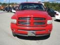2002 Flame Red Dodge Ram 1500 Sport Quad Cab 4x4  photo #2