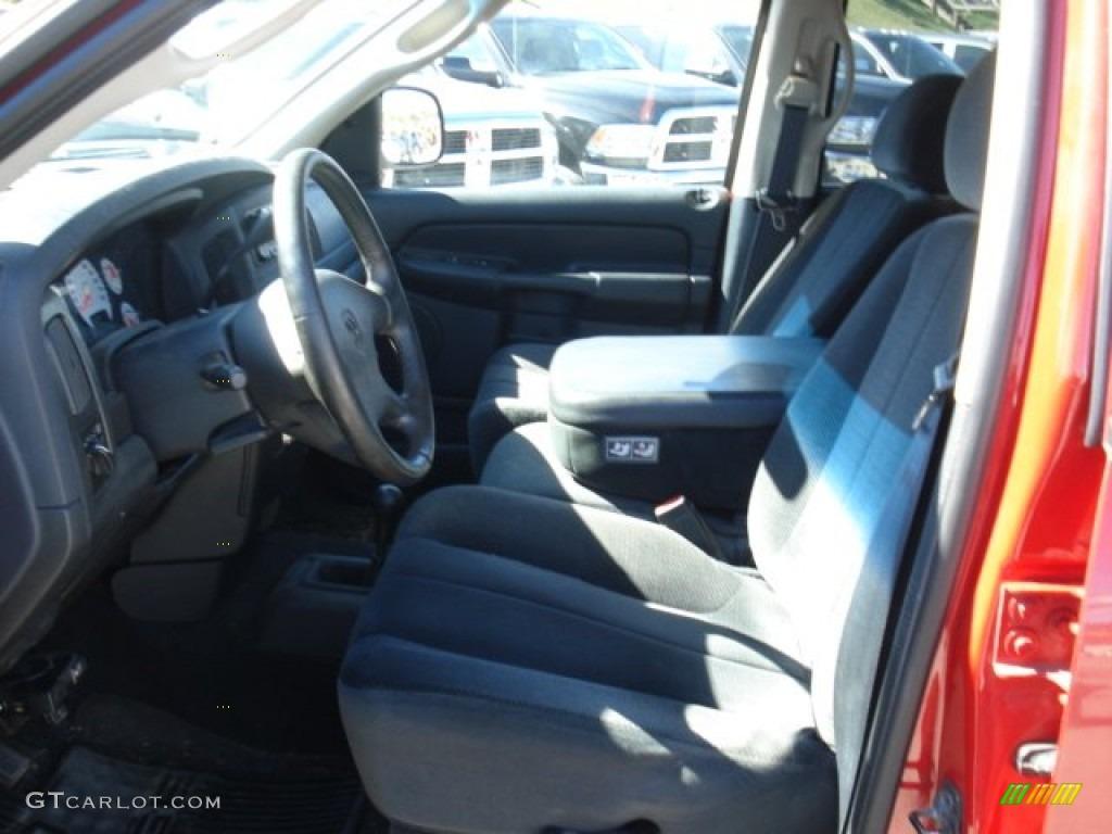 2002 Ram 1500 Sport Quad Cab 4x4 - Flame Red / Dark Slate Gray photo #14